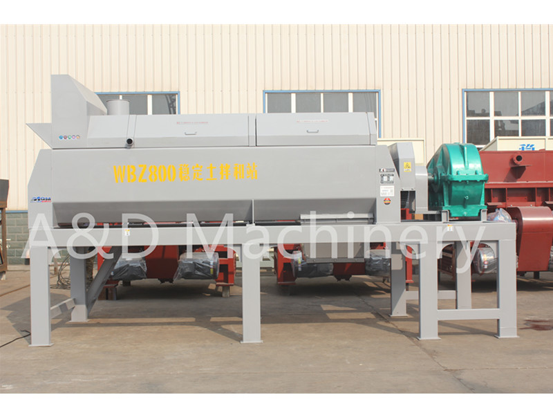 WBZ800 Stabilized Soil Mixing Plant